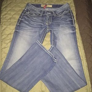 BKE size 31 1/2 Stella boot jeans. Bag#76